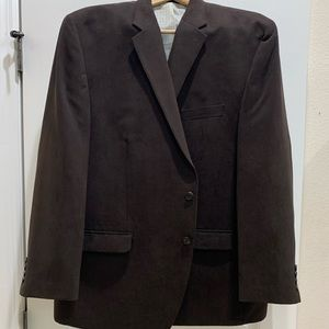 Kenneth Cole dark brown blazer size 52R